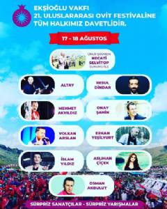 21. Geleneksel Ovit Festivali